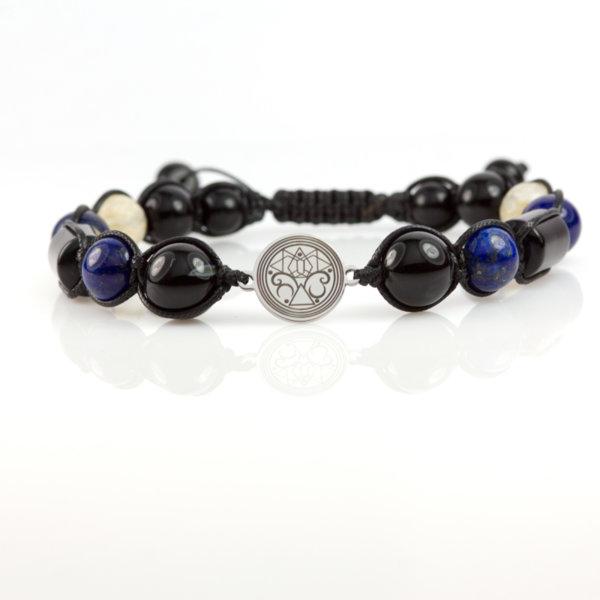 Мандала Интуиция с камъни за Водолей